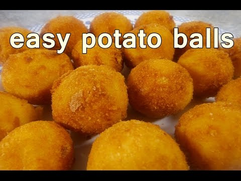 FRIED POTATO BALLS – Tasty and Easy Food Recipes For Dinner to make at home – Cooking videos
