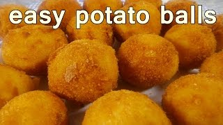 fried potato balls tasty and easy food recipes for dinner to make at home cooking videos