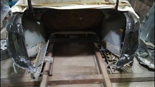 Кузовной ремонт Лада Гранта.Удар в зад.Часть2