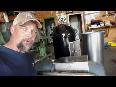 How to install the WSM Lavalock door mod from BBQSmokerMods.com on a ribbed UDS drum