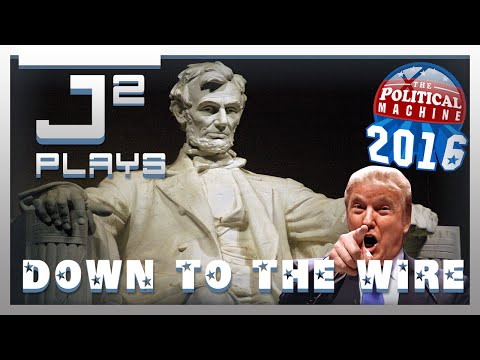 The Political Machine 2016 Democrat Campaign Gameplay - Down To The Wire - Part 3