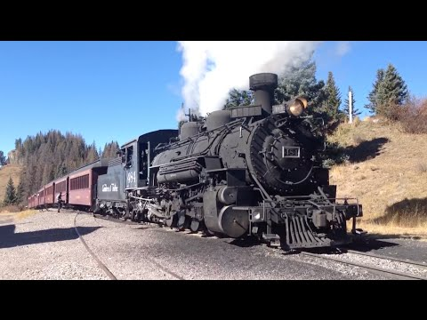 Cumbres and Toltec Scenic Railroad - Chama to Antonito