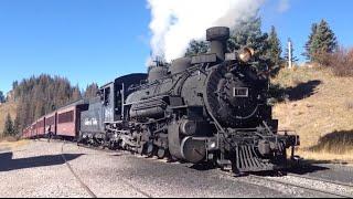 Cumbres and Toltec Scenic Railroad - Chama to Antonito