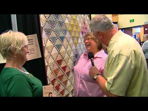 Visiting with Huell Howser: Quilt Show