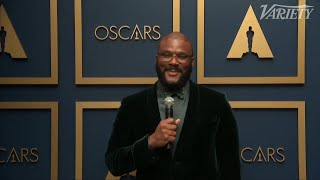 Tyler Perry on His Powerful Acceptance Speech for Jean Hersholt Humanitarian Award at 2021 Oscars