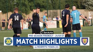 HIGHLIGHTS | Stockton Town 1-3 Morpeth Town