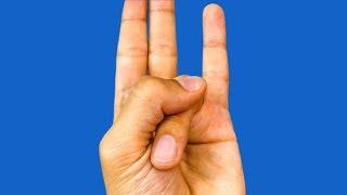 أمسك إصبعك بهذه الطريقة ولن تصدق ما الذي سيحدث لك