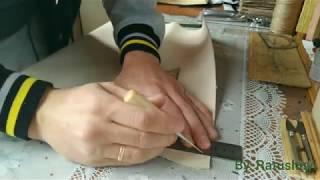 як зробити тапочки зі шкіри своїми руками