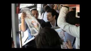 Vatan Şaşmaz &  Hayrettin İETT Metrobüs Reklamı