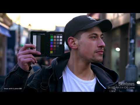 Panasonic Lumix S1 Camera - HLG to PQ HDR Skintones
