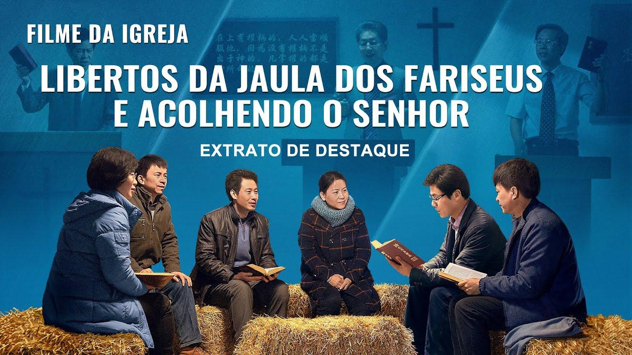 """Filme gospel """"Fé em Deus 2 – Depois da queda da igreja"""" Trecho 2 - Libertos da jaula dos fariseus dos últimos tempos e acolhendo o retorno do Senhor"""