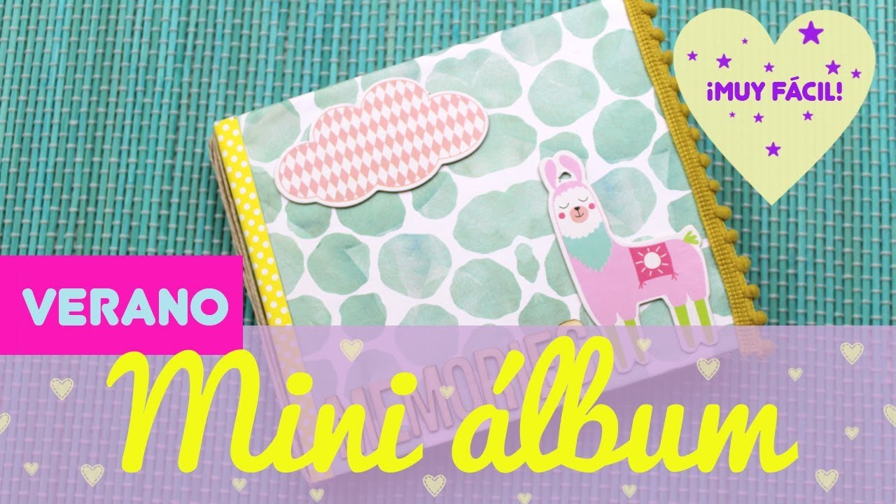 ▷ ✅Mini álbum de scrapbook de verano kawaii 【TOP 2020】 - Uma Manualidades