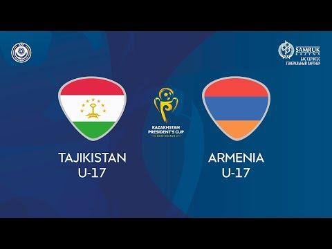 Кубок Президента РК / Таджикистан U-17 – Армения U-17 /КФФ ТВ