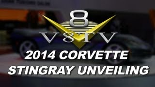 Chevrolet Unveils 2014 Stingray Convertible Video V8TV