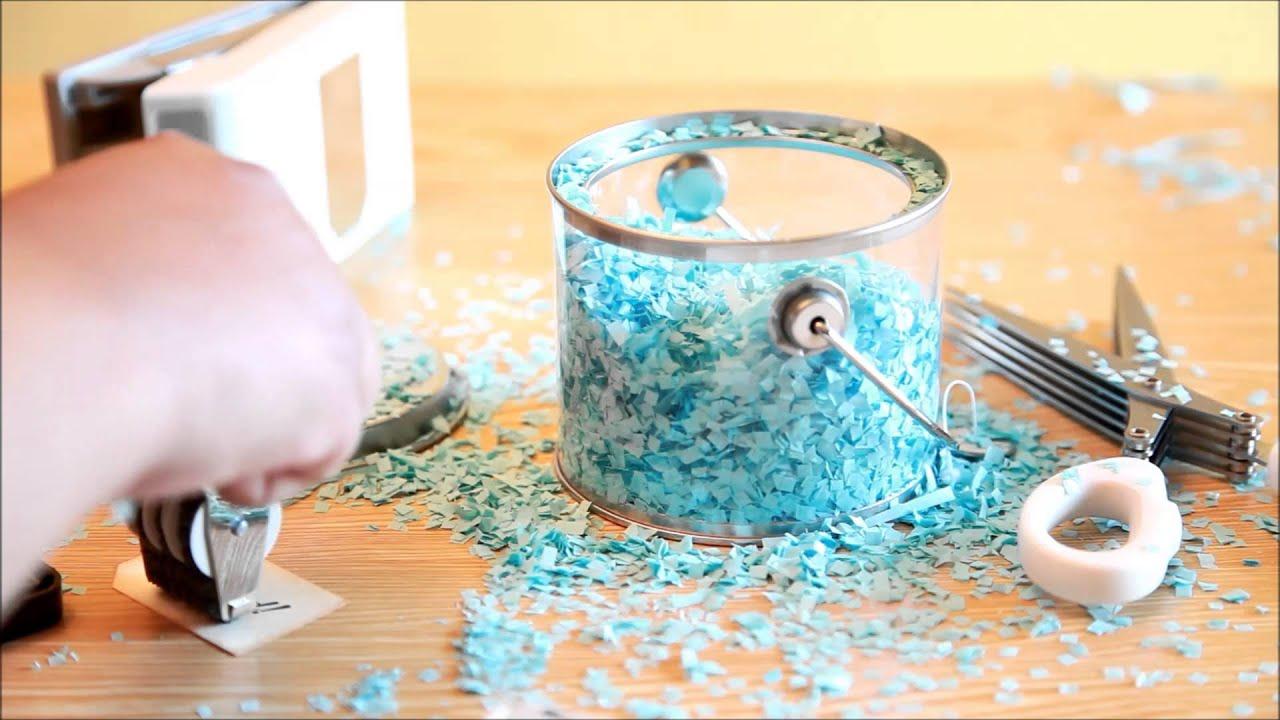 DIY Wedding Confetti Favor Bag