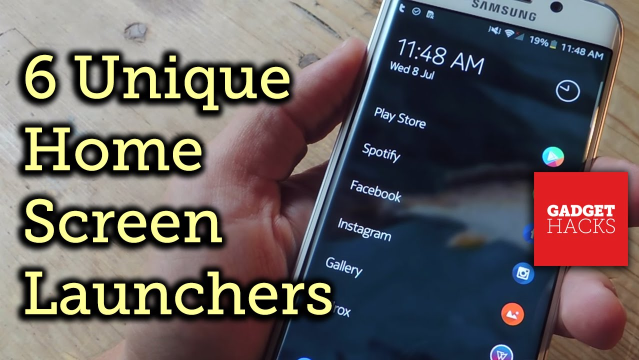6 Unique Android Launchers That'll Get You to Ditch Your