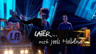 lp lost on you later… with jools holland bbc two