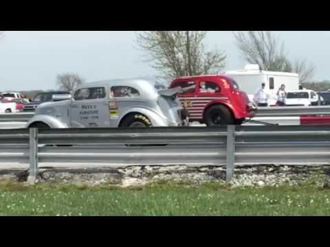 Blown Anglia Gassers Match Race A/GAS Racing vs Lil Bit