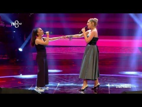 Hadise & Eda - Aşk Dediğin Düet   O Ses Türkiye 7 Ekim 2019