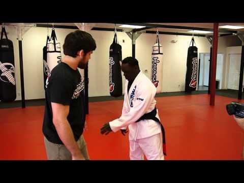 Jeff Mayweather gets a terrible jiu jitsu lesson from Robert Drysdale