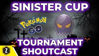 THOTECHTICAL 5-0 SINISTER CUP TOURNAMENT| POKEMON GO PVP