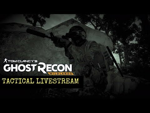 Ghost Recon Wildlands: Not so Tactical Livestream: Prisoner Extraction and Whiskey don't mix