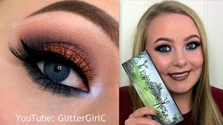 PUMPKIN SPICE Makeup Tutorial - Sugarpill EDWARD SCISSORHANDS palette