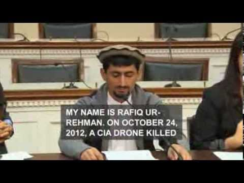 Victim's family  'A CIA drone killed my 67 y old mother'; Paki-Punjabi ISI Double Game On Pashtuns!!