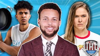 Ronda Rousey Trash Talking Me in Steph Curry's YouTube Show! *MY HIGHLIGHTS*