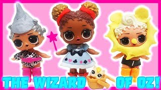 LOL Surprise Dolls Perform The Wizard of Oz! Starring Sugar Queen, MC Swag, and Court Champ!