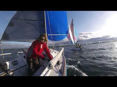 Downwind WYC G series race 2