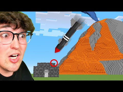 Testing Natural Disaster Hacks To See If They Work In Minecraft