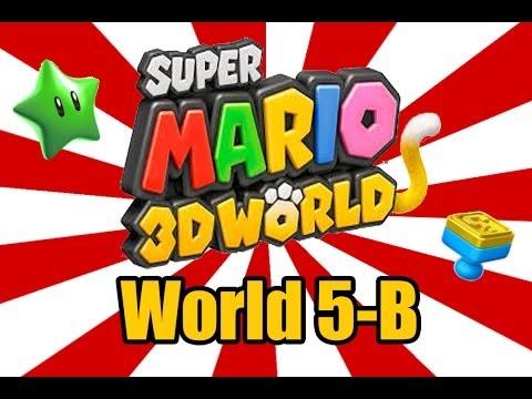 Super Mario 3D World - Fire Bros Hideout #2 (World 5-B)