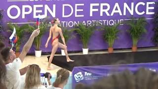 Varvara SUBBOTINA (RUS) technical solo - 2018 French Open Montreuil