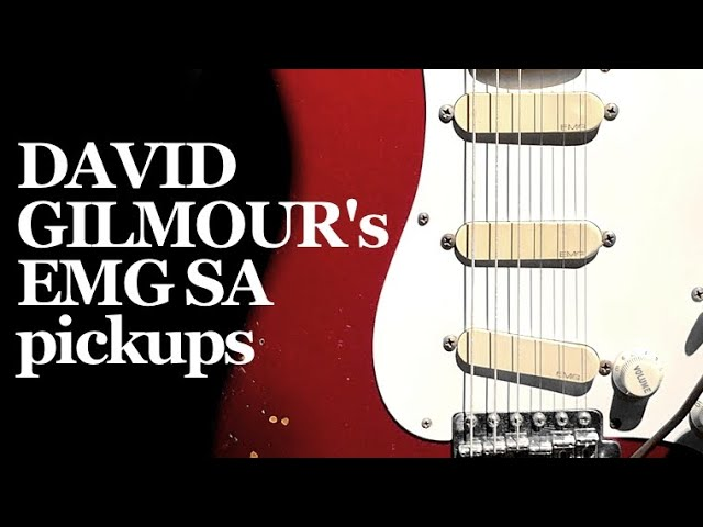 David Gilmour's EMG SA pickup tones - YouTubeYouTube