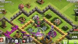 Clash Of Clans BEST ATTACK with Healer (Barbarian King & Naga) Strategy Clash of Clans Attack