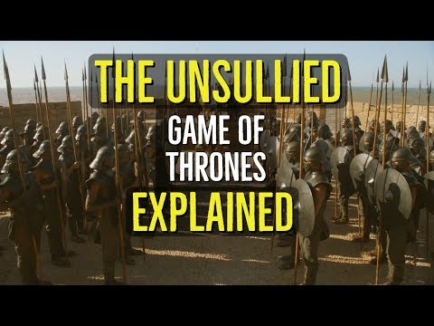 The UNSULLIED Explained GAME of THRONES