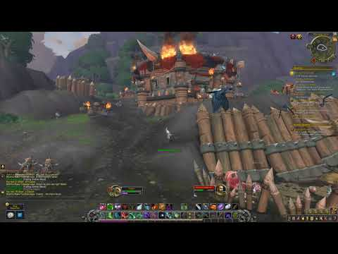 Douse The Flames - Stormsong Valley Quest - BFA - World Of Warcraft