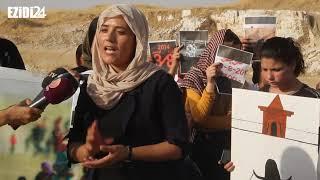 رابطة دعم المراة الايزيدية تستذكر الإبادة الايزيدية في الذكرى السادسة لها