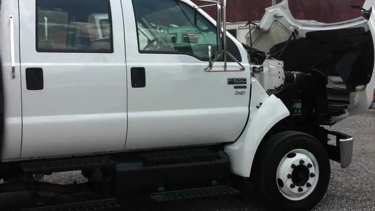 2006 Ford F-650 Lo Pro Crew Cab For Sale - YouTube