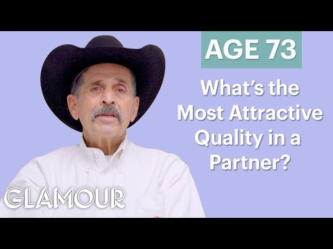 70 Men Ages 5-75: What's the Most Attractive Quality in a Partner? | Glamour