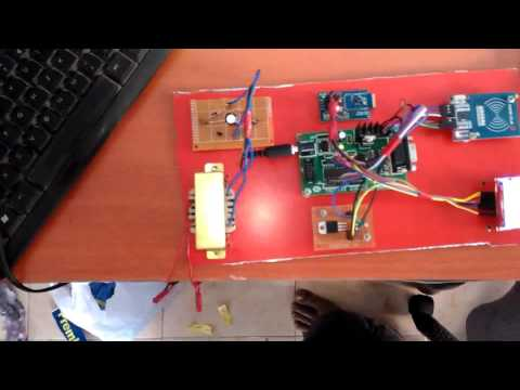 RFID Based School Bus Tracking System