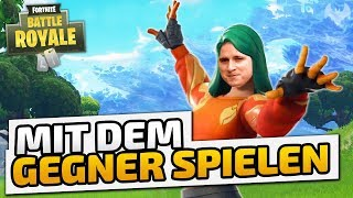 Mit dem Gegner SPIELEN - ♠ Fortnite Battle Royale ♠ - Deutsch German - Dhalucard
