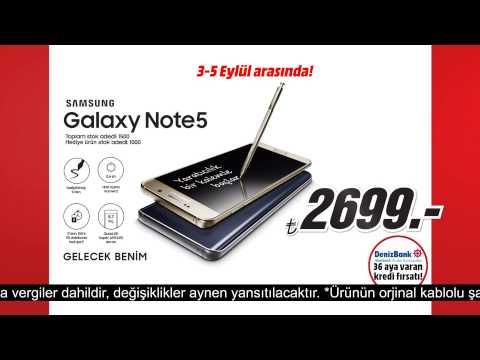 Samsung GALAXY Note 5 Media Markt'ta!
