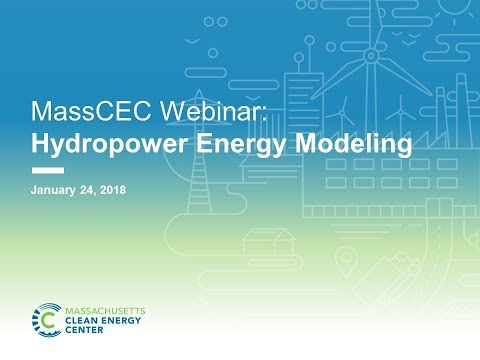 MassCEC Hydropower Energy Modeling