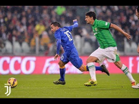 JUVENTUS Vs Parma  Goal Tevez 4-0