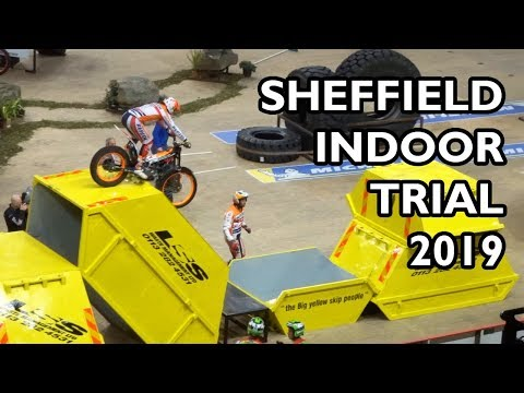 Sheffield Indoor Motorbike Trial 2019 - BEST BITS