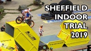 Sheffield Indoor Motorbike Trial 2019 - BEST BITS