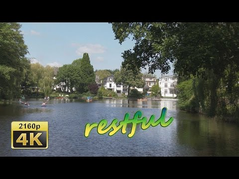 Hamburg, Stadtpark, Alster Canal Tour - Germany 4K Travel Channel