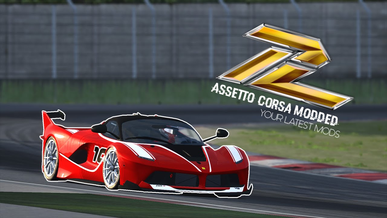 assetto corsa - ferrari fxx k - youtube